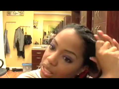 Two Strand Twist Braid Using 100% Kanekalon Hair | How To Make & Do ...