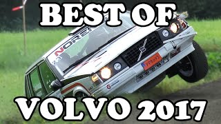 Extreme Volvo Rallying 2017! | Crashes & action! |