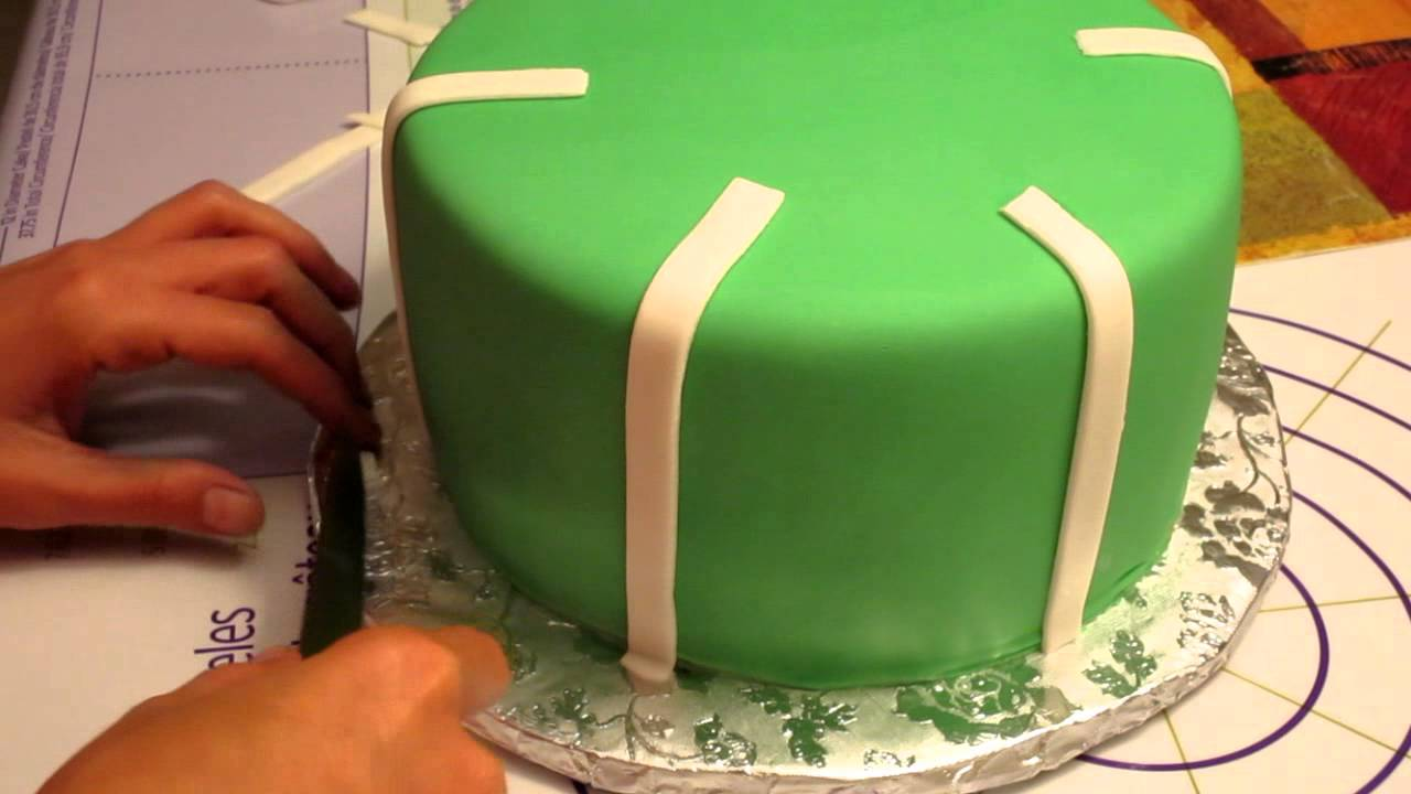 Football Tier Cake