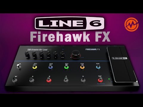 Line 6 Firehawk FX - Обзор гитарного процессора