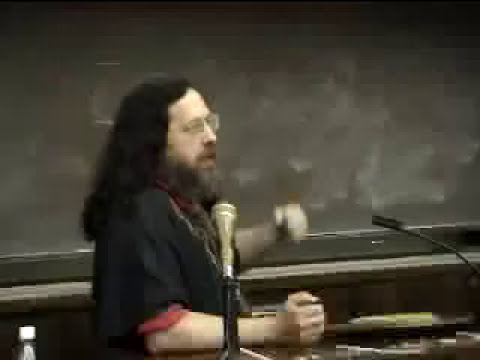 Richard Stallman, Free Software Lecture, Australian National University, 2004
