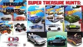 Hot Wheels 2019 Super Treasure Hunts + Treasure Hunts Until Now! Hot Wheels News!