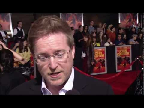 John Carter: World Premiere Official Red Carpet Interview Director Andrew Stanton [HD]