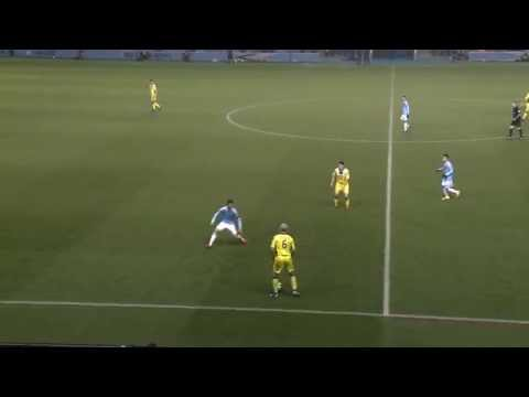 JIM GOODWIN NUTMEGS DAVID VILLA - NEW YORK CITY F.C v ST.MIRREN F.C