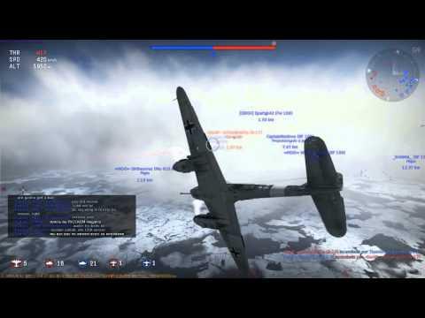 War Thunder - Evento ( ARDENAS - ME 410 A1U4 )