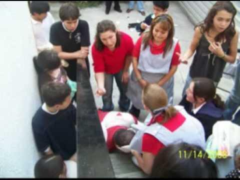 Practica de Primeros Auxilios Colegio Asunción