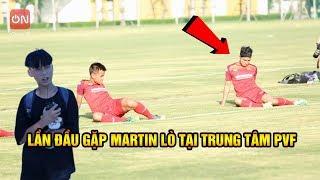 Đi Xem Martin Lò và các cầu thủ U23 Việt Nam tại Trung Tâm PVF cùng Quang Hải Nhí Duy Trung