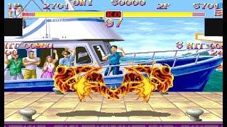 Hyper Street Fighter 2 (ARC) Versus Exhibition Matches [4k] [TAS]