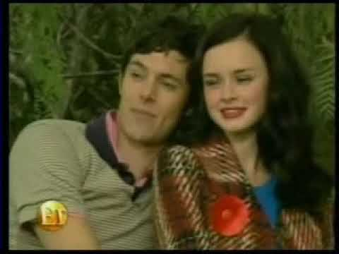 Adam Brody and Alexis Bledel Teen Vogue photoshoot photographed by Patrick Demarchelier