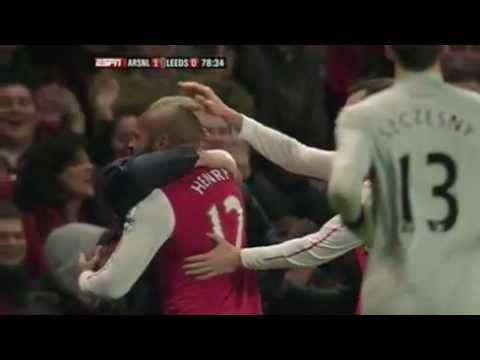 The Return Of The King : Thierry Henry Vs Leeds video