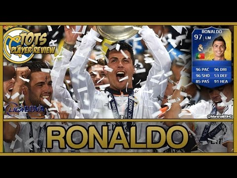 FIFA 14 UT - TOTS Ronaldo || Team Of The Season Ultimate Team 97 Player Review + In Game Stats