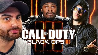 "Marshawn Lynch Plays ""Call of Duty: Black Ops 3"" With Typical Gamer & Hike The Gamer"