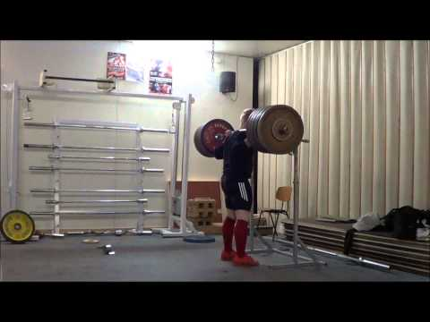 Brutal Back squat training 30.1.13 Milko Tokola Image 1