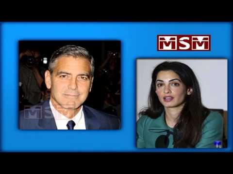 George Clooney talks wedding to Amal Alamuddin