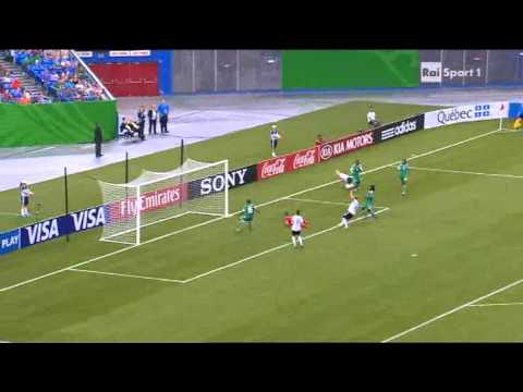Germania-Nigeria 1-0  Final Mundial Canada 2014 Petermann