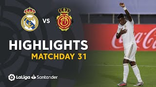 Highlights Real Madrid vs RCD Mallorca (2-0)
