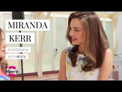 Miranda Kerr talks Orlando, Flynn and her Hair and Beauty secrets