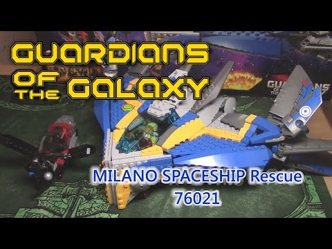[ОБЗОР ЛЕГО] СТРАЖИ ГАЛАКТИКИ 76021 Спасение космического корабля Милано