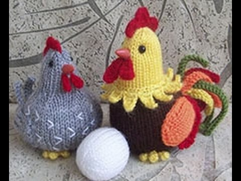 Пасхальные курочки и их вязание крючком