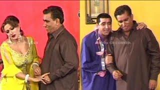 Nasir Chinyoti | Zafri Khan | Saima Khan - Comedy Stage Drama Clip