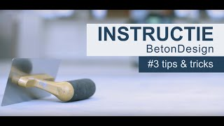 EUROCOL | BetonDesign | Tips