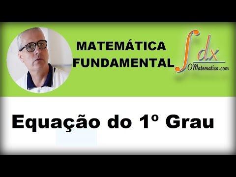 Grings - Equação do primeiro grau