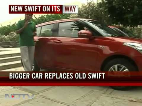 Maruti's New Swift Arrives