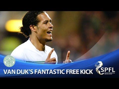 Van Dijk scores another sensational free kick!
