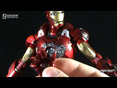 Collectible Spot - Hot Toys The Avengers Iron Man Mark VII 1:6 Scale Collectible Figure