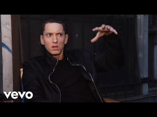 Eminem - Not Afraid (Behind The Scenes, Day 2)