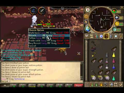 Denjed ~ Runescape crucible pk vid 3 | Stacking up with them clawz