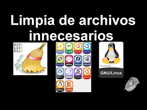 Limpiar archivos innecesarios en GNU/Linux, Mint, Ubuntu, Debian, Fedora