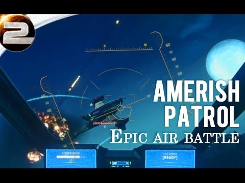 Amerish Patrol: Epic Air Battles! Planetside 2 gameplay and commentary