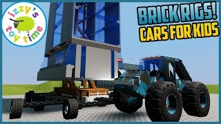 Cars for Kids | WE'RE ALL SICK! Let's Play BRICK RIGS! LEGO Vehicles Destruction!