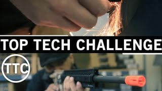 Airsoft GI - Top Tech Challenge - Special Purpose Rifle Race Build from G4 Base Airsoft Guns
