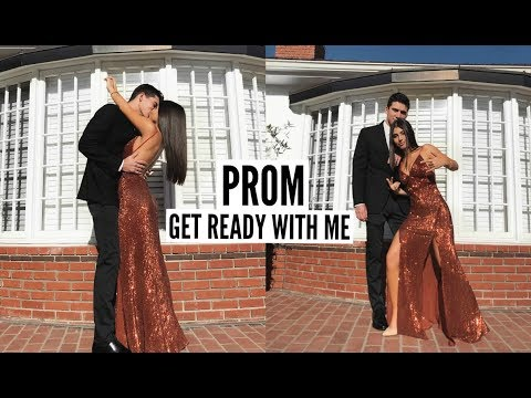 Get Ready With Me For Prom 2018 (Hair. Makeup. & Dress)