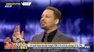 Undisputed | Chris Broussard DEBATE: Will Warriors force Game 7 to keep their 3-peat hopes alive?