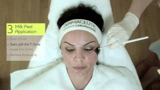 Dermaceutic Milk Peel Treatment - Short Video