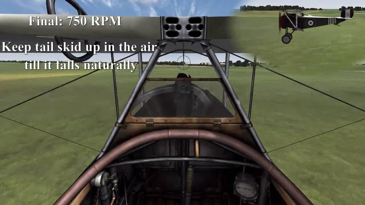 777 Landing Procedures Nieuport 17 Landing Procedure