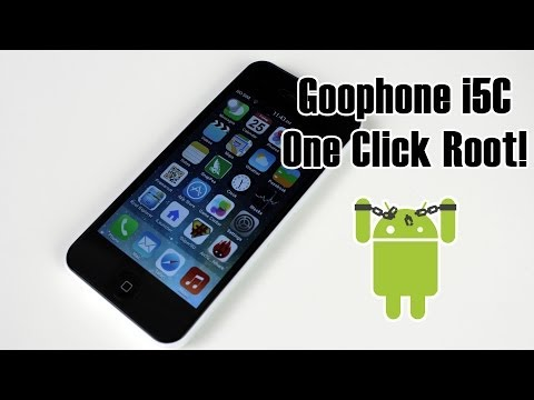 Goophone i5C - One Click Root (1:1 Replica iPhone 5C)
