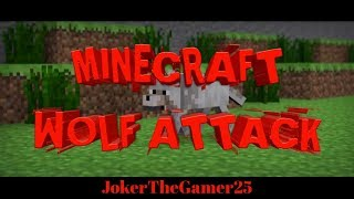 MINECRAFT | 5 YEAR OLD  | HOLIDAY CRAFT MAGIC CHRISTMAS ADVENTURES | WOLF TRYING TO ATTACK ME