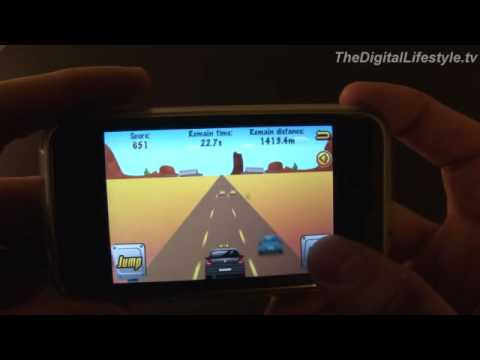 Crazy Taxi for the iPhone Video Review