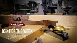 Joint of the Week - Japanese Scarf Joint (Kanawa Tsugi 金輪継)