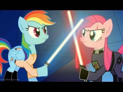 Star Wars Re-enacted by Ponies Music Videos