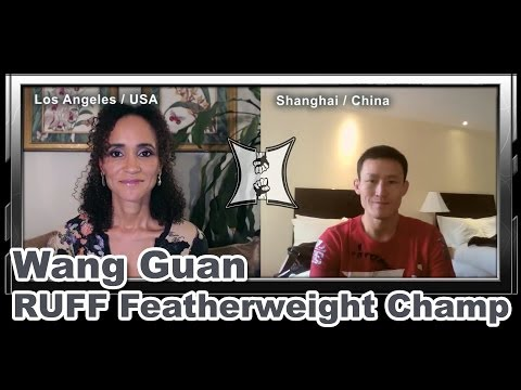 Chinese Featherweight Champ Wang Guan on Fighting Russian Bekbulat Magomedov at RUFF 11