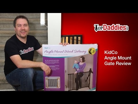 Kidco Angle Mount Wood Safeway Baby Gate Review