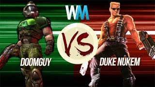 Doomguy VS Duke Nukem: Who's More Badass
