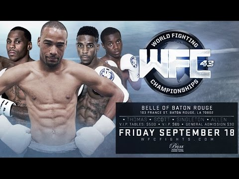WFC 43: boxing highlight