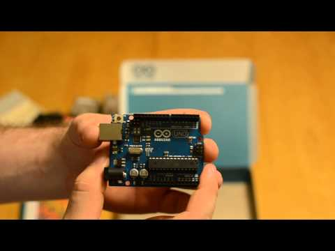 Arduino (Uno R3) Starter Kit Unboxing and Review