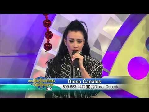 Diosa Canales Presentación y entrevista De Extremo a Extremo